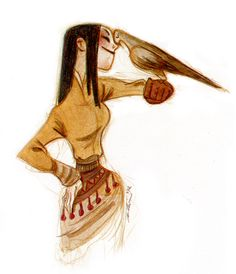 Hawk, Girl illustration / Falco, Illustrazione Ragazza - Art by Clio Chiang Character Poses, Female Character Design, Character Concept, Character Art, Concept Art, Character Design Animation, Character Design References, Art Drawings, Drawing Art