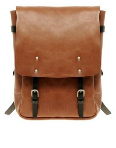 Women's Bags : Picture Description Ally Capellino Hugh Backpack - Satchel Backpack, Satchel Handbags, Crossbody Bag, Latest Fashion Clothes, Look Fashion, Fashion Bags, 80s Fashion, Brown Satchel, Leather Satchel