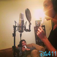 Photos: Bridgit Mendler In The Recording Studio September 19, 2014