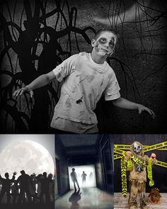 Zombie / Walking Dead Backdrops from Backdrop Express Halloween Photography, Halloween Photos, Walking Dead, Backdrops, Fictional Characters, Art, Art Background, Halloween Pictures, Kunst