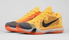 wholesale dealer fc25b 74dbe Nike Kobe X 10 Elite Low Chester Cheetah Laser Orange Black Men 747212 818