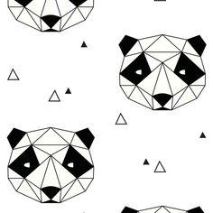 Panda fabric by kimsa on Spoonflower - custom fabric