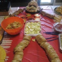 Halloween food ideas Could do a lot with this one
