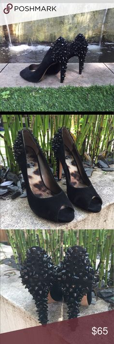 Sam Edelman spiky heels #samedelman spiked heels, worn twice, great condition Sam Edelman Shoes Heels