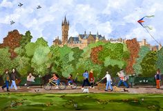 Jennifer Thomson - Glasgow University - above the tree tops