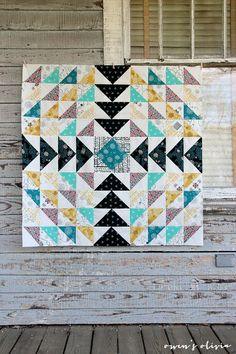 owen's olivia: Etno Quilt Top || Pat Bravo of Art Gallery Fabrics