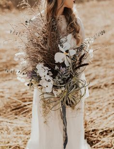 botanical airplant bouquet