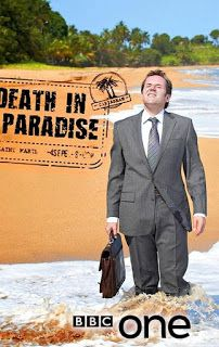 The popular BBC lighthearted crime drama is filmed on the island of Guadeloupe, and can be seen via Netflix. Sara Martins, Mystery Show, Mystery Series, Masterpiece Mystery, Masterpiece Theater, Tv Series To Watch, Bbc Tv Series, Trailers, Death In Paradise