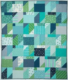 """Scrap Ease"" from Lynette Jensen's book ""Thimbleberries Quilts with a New Attitude."""