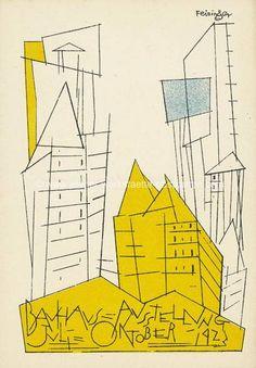 Vintage Postcard, Bauhaus