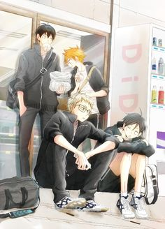 The First Years go out for snacks. | Haikyuu!! #anime