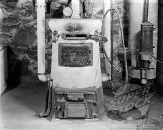 Antique coal hot water heaters | ... 3440, 1920S Old Fashion Coal Burning Home Furnace And Gas Water Heater