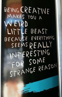 Weird little beast!