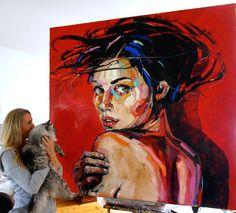 DESIRE 150x150cm, oil on canvas