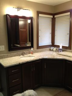 A large bathroom to share or just for you Tom's Cabinets Inc www.tomscabinetsinc.com or facebook Tom's Cabinets Inc