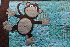 monkey quilt pattern free | Distant Pickles: Making Monkeys.. And Other Applique'd Animals
