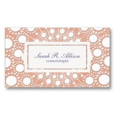 Peach Embossed and Linen Look Beauty Business Card Template. This is a fully customizable business card and available on several paper types for your needs. You can upload your own image or use the image as is. Just click this template to get started! Embossed Business Cards, Fashion Business Cards, Beauty Business Cards, Vintage Business Cards, Salon Business Cards, Makeup Artist Business Cards, Elegant Business Cards, Custom Business Cards, Business Card Design