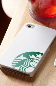 Starbucks iPhone Cover  $9.99  http://rstyle.me/n/d6hj7nyg6