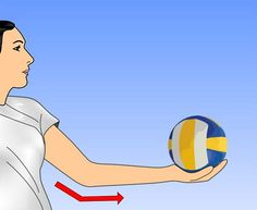 How to Serve a Volleyball Overhand. Most of us have seen someone do an overhand volleyball serve that looked effortless. While an overhand volleyball serve is a more versatile serve, it's also more difficult. Volleyball Mom Quotes, Volleyball Serve, Basketball Cheers, Volleyball Workouts, Basketball Tickets, Girls Softball, Girls Basketball, Volleyball Positions, Volleyball Training