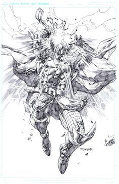 Thor by Stephen Segovia *