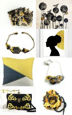 Black and Yellow  by Gilberto Vavalà on Etsy--Pinned with TreasuryPin.com