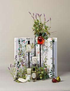 Book créatif d'Alexandre Roussard, Responsable Visual Merchandising chez Diptyque depuis septembre 2011