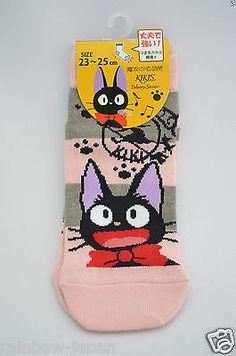 Kiki's Delivery Service Women's Socks 1pair 23 -25 cm Studio Ghibli JAPAN 04