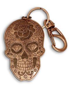 Sugar Skull key ring