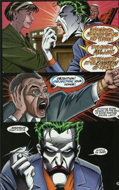 Joker Comic, The Devil's Advocate, Arkham Asylum, Im Batman, Batman Family, Red Hood, Madly In Love, Joker And Harley, Having A Bad Day