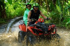 Join in Bali ATV Ride Adventure Tour after Visiting Tanah Lot Atv Riding, Quad Bike, Rural Area, Adventure Tours, Bali, How To Find Out, Join, Quad, Adventure Travel