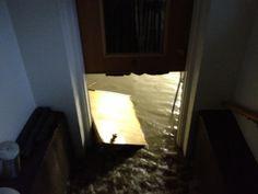 Business owner: Rail construction project caused damaging flood | KDVR.com