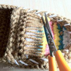 Crochet Tribal Moccasin Tutorial