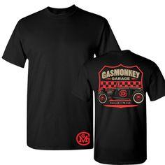 703b1221 Gas Monkey Garage T-shirt: Unisex Roadster Shield Tee | Gas Monkey Garage  $24.95 #gasmonkeygarage #gasmonkey #richardrawlings #aaronkaufman #fastnloud