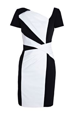Karen Millen Graphic Colour Block Dress Black and White Product details: * Black and white colour block stretch dress with cap sleeves. * Material :12% Elastane,88% Polyamide * Color : Show as pictures Free shipping and fast delivery to all over the world. Professional design and sales glamorous, outstanding and feminine designer karen millen dress - Colour Block Dress.