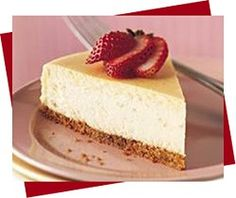 Low carb cheesecake. Delish!