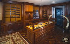 www.pinterest.com/1895gunner/ | Gun Rooms & Cabinetry