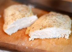 how to cook moist & tender chicken breast every time (never had a method that worked so well!)