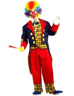 Zirkus-Clown - mit Jacke, Weste, Hemdfront und Hose!  Kategorie: Karnevalskostüme Klassiker. Retro Outfits und Verkleidungen für die Fünfte Jahreszeit!  #Fasching #Fasnacht #Karneval #Kostüm