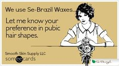 Do you need a wax? Call us at 913-284-4446! #Esthetician #Icanwaxthat #diamondinthemuff