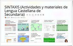 Frases, Interactive Activities, Spanish Language, Learning, Literatura