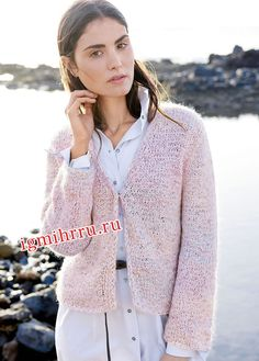 Knits, Knit Sweaters, Cardigans, Pink Cardigan, Stockinette, Knit Jacket,  Knitwear, Knit Crochet, Father