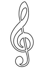 Sagoma nota musicale 5 hv pinterest music notes for Note musicali dwg