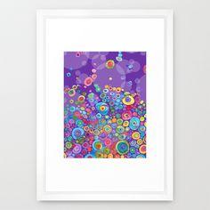 Inner Purple Framed Art Print