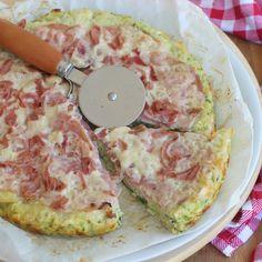TORTA SALATA CON ZUCCHINE PROSCIUTTO E FORMAGGIO in padella o in forno