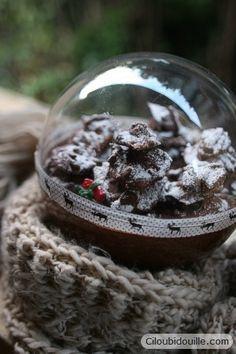 Ciloubidouille » Bûche de noël dans une boule
