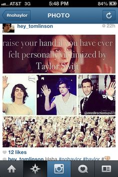 Hahaha, nothing against Taylor love her music... But this is funny!