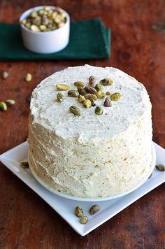 Paleo Maple Pistachio Cake