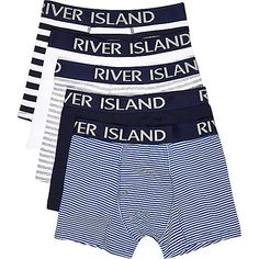 Blue stripe trunks pack - trunks - underwear - men