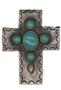 Navajo silverwork with turquoise stones