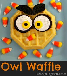 What a HOOT to start your kids morning with this fun breakfast! A must pin!